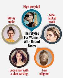 haircuts hairstyles for a round face