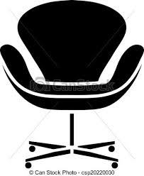 office chair clipart. clip artby tatiana531/11; black office chair icon: business design clipart h