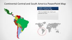 Editable Map Of Usa For Powerpoint South America Ppt Barca Fontanacountryinn Com