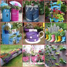 40 creative diy garden containers and