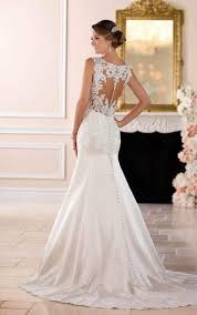 wedding dresses elegant sparkling fit and flare gown stella york