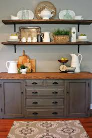 kitchen furniture hutch. 10 simple ideas for decorating your home turn to shine link party 41 kitchen furniture hutch