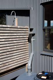 maine cabin outdoor shower