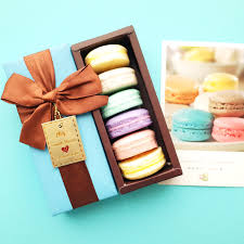 whole 100 handmade france macaron coconut oil love soap decorative gift box savon coffret idee cadeaux valentine adams handmade soap