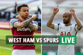 West Ham 2 Tottenham 1 LIVE REACTION: Hammers into top four as Lingard  scores second before Lucas Moura gets one back
