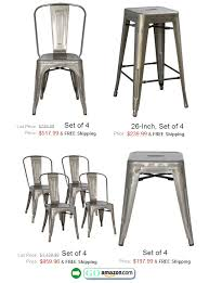 metal dining chairs amazon