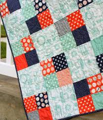 Quilt Patterns Impressive Fast FourPatch Quilt Tutorial Quilts projects and tips