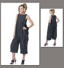Jumpsuit Pattern Vogue Delectable Vogue Patterns 48 Misses' Jumpsuit