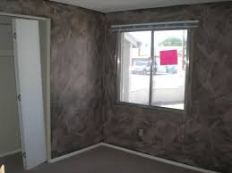 ugly faux paint job swipes bedroom phoenix arizona home house real estate photo