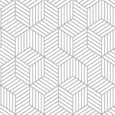 Pattern Wallpaper Simple Geometric Wallpaper You'll Love Wayfair