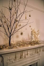 Fairy Lights For Mantle Christmas Winter Decoration Fireplace Mantel Mantelpiece