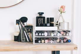 Small Space Beauty Station Ideas And Make Up Storage Solutions