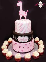 Giraffe Cake Topper Jungle Cake Topper Baby Giraffe Baby Shower Baby Shower Safari Cakes