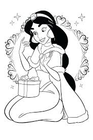 Jasmine Coloring Page Princess Coloring Pages For Kids Jasmine
