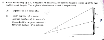 trigonometry problems math maths tuition trigonometry solving trig function word problems