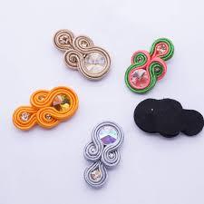 <b>Earrings</b> silver gray <b>2019 new</b> fashion Handmade Weaving ...