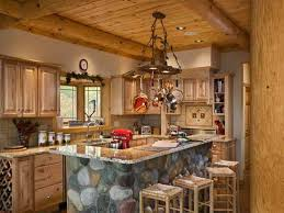 Log Cabin Kitchen Decor Cabin Kitchen Design Cabin Kitchen Ideas Pictures Remodel And