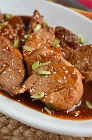 slimming eats instant pork teriyaki pork tenderloin gluten free dairy free paleo