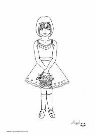 Small Picture Little Girl Coloring Pages GetColoringPagescom