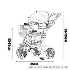 Wf Bike Bici Per Neonati Passeggino Per Bambini Triciclo 1 3 5