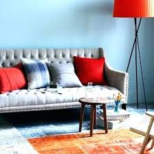 orange and grey living room decor orange and gray living room orange and blue bedroom ideas