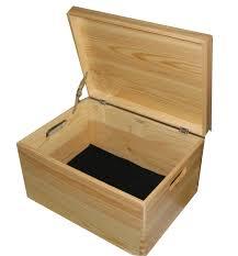 internal image of extra large wooden keepsake boxes