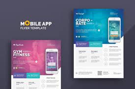 Flyer Design App Mobile App Flyer Templates