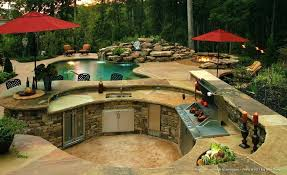 outdoor kitchen design ideas pool and designs backyard