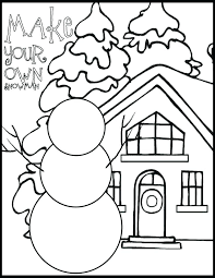 Math Christmas Coloring Pages Printable First Grade