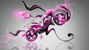 lotus c  fantasy flowers bike