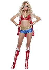 Adult costume sexy woman wonder