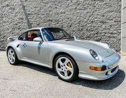 Dk blue grey 6 spd. Dt 13k Mile 1997 Porsche 993 Turbo S Pcarmarket