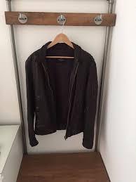 stunning men s leather all saints er jacket