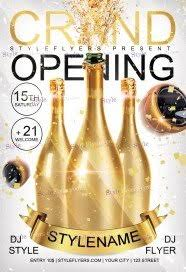 Free Grand Opening Flyer Template Free Grand Opening Flyer Psd Templates Download Styleflyers