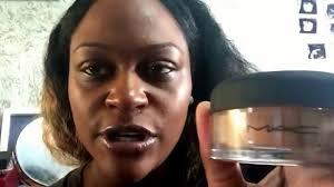 mac mineralize foundation loose on dark skin you