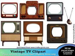 vintage tv png. pin tv clipart retro #2 vintage png