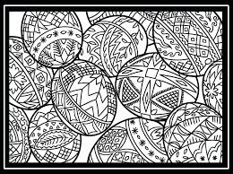Easter Egg Coloring Pages Free Printable Eggs For Adults Mtkguideme