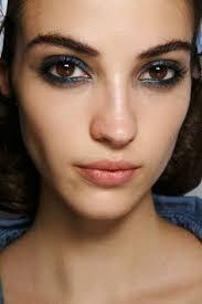 blue state makeup 2016 runway makeup makeup trends makeup inspo beauty trends