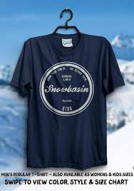 Grenade Snowboard Pants Size Chart Snowbasin Utah Shirt Ski Resort Skiing Gift Idea Snowboarding Tshirt Holiday Family Vacation Trail Memories Snow Winter Mountain