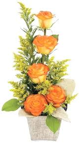 simple fl arrangements flower for round tables long arrangem