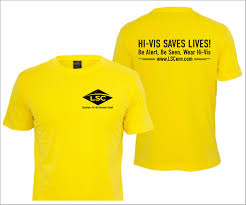Hi Vis T Shirt Design Masculine Bold Industrial T Shirt Design For A Company By