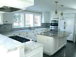 grey quartz white cabinets kitchen designs shaker with countertops countertop colors