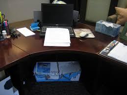 curved corner desk 1 middle section