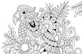Free Coloring Pages Animals Intricate Coloring Page Free Intricate