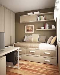 Single Bedrooms Bedroom Best Modern Brown Wood Bed Boy Bedroom Decorating With