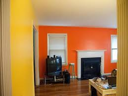 orange wall paint144 best Beautiful Wall Designs images on Pinterest  Home