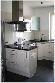 Weisse Küche Granit Arbeitsplatte