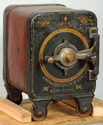 york safe. louis contencin \u0026 sons screw door safe-1899. round safe with combination york
