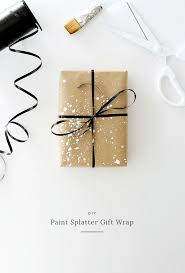 best paper gifts ideas origami paper folding diy paint splatter gift wrap almost makes perfect