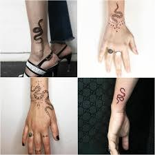 тату змея древний символ бесконечности в мире татуировок